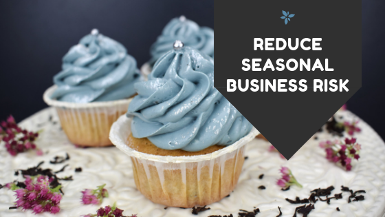 reduce seasonal business risk blog graphic